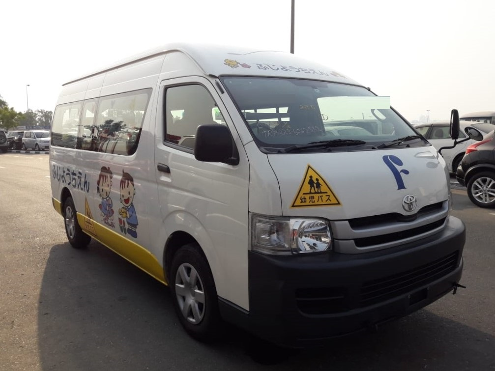 2538 - TOYOTA  HIACE 2WD 2.7 AT VAN WHITE