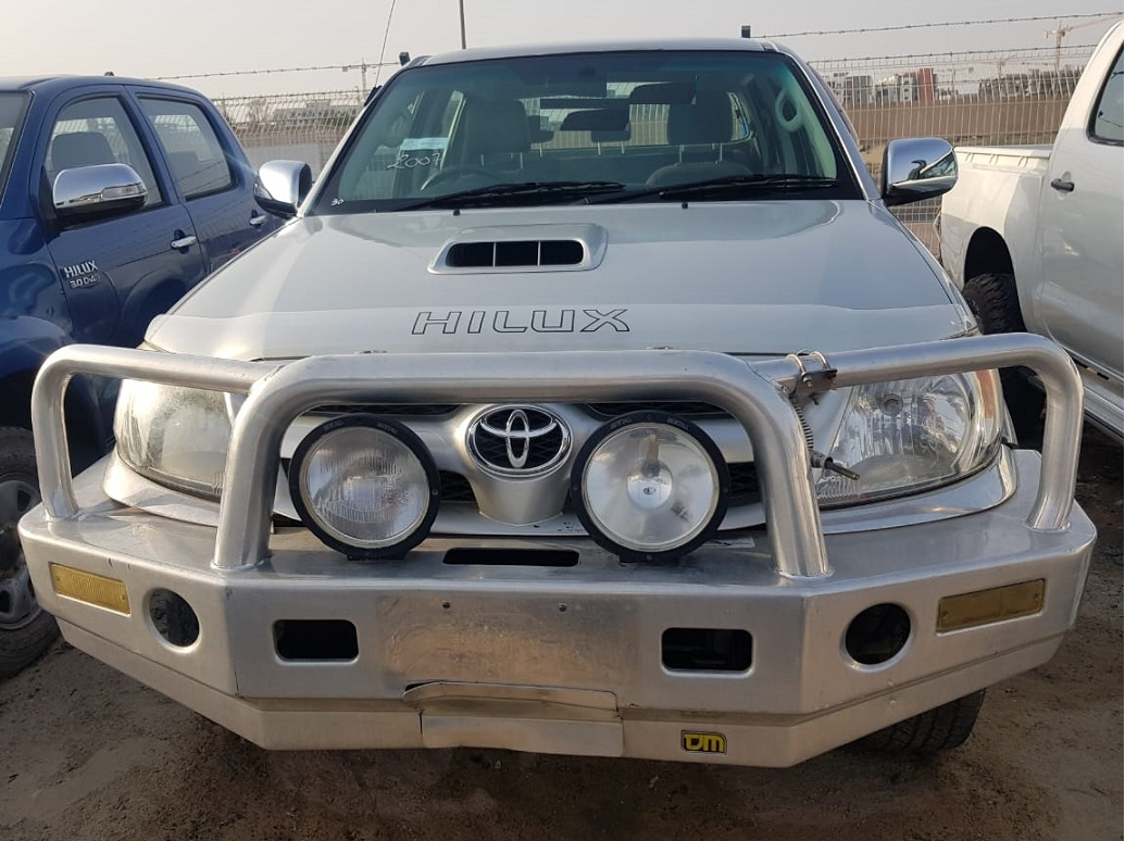 4741 - TOYOTA  HILUX  4WD  3.0  MT PICKUP SILVER