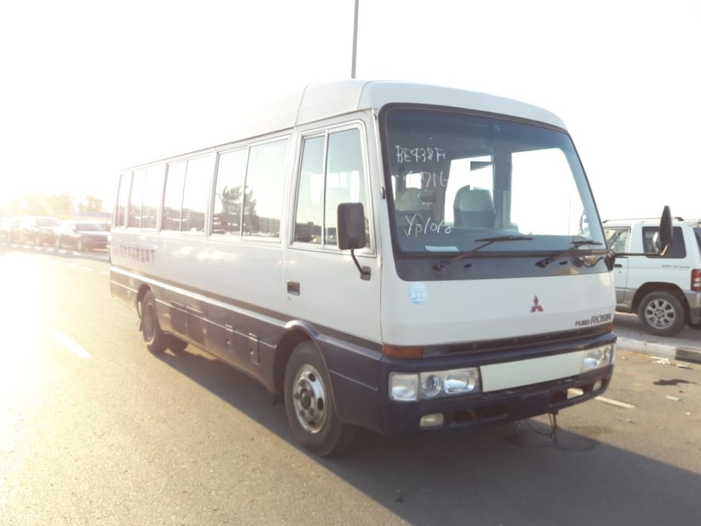 716 - Mitsubishi rosa 4.6 AT Bus White and blue