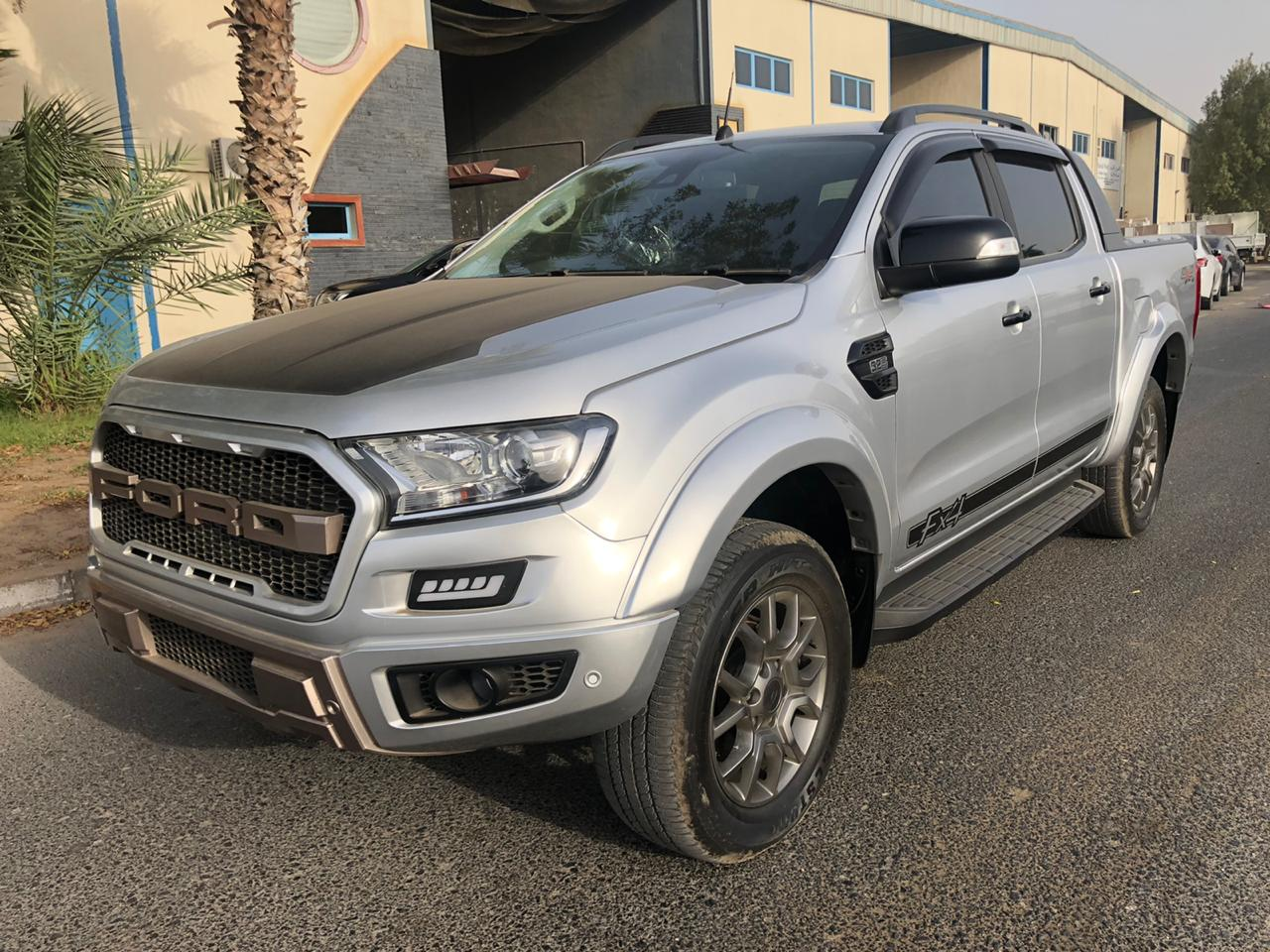 3538-FORD RANGER 3.2 AT PICKUP SILVER