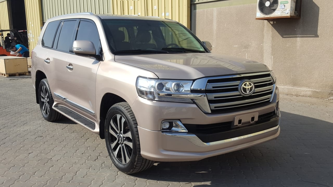 2199-TOYOTA LAND CRUISER 4.6 AT GOLDEN