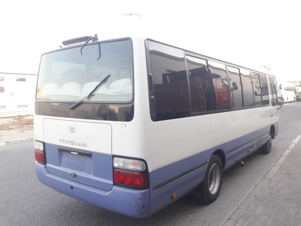 1964-TOYOTA COASTER BUS 4.0 AT WHITE BLUE