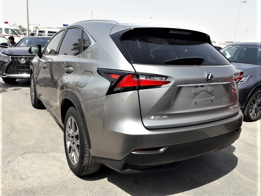 8746 - Lexus nx 2.5 AT Suv Silver