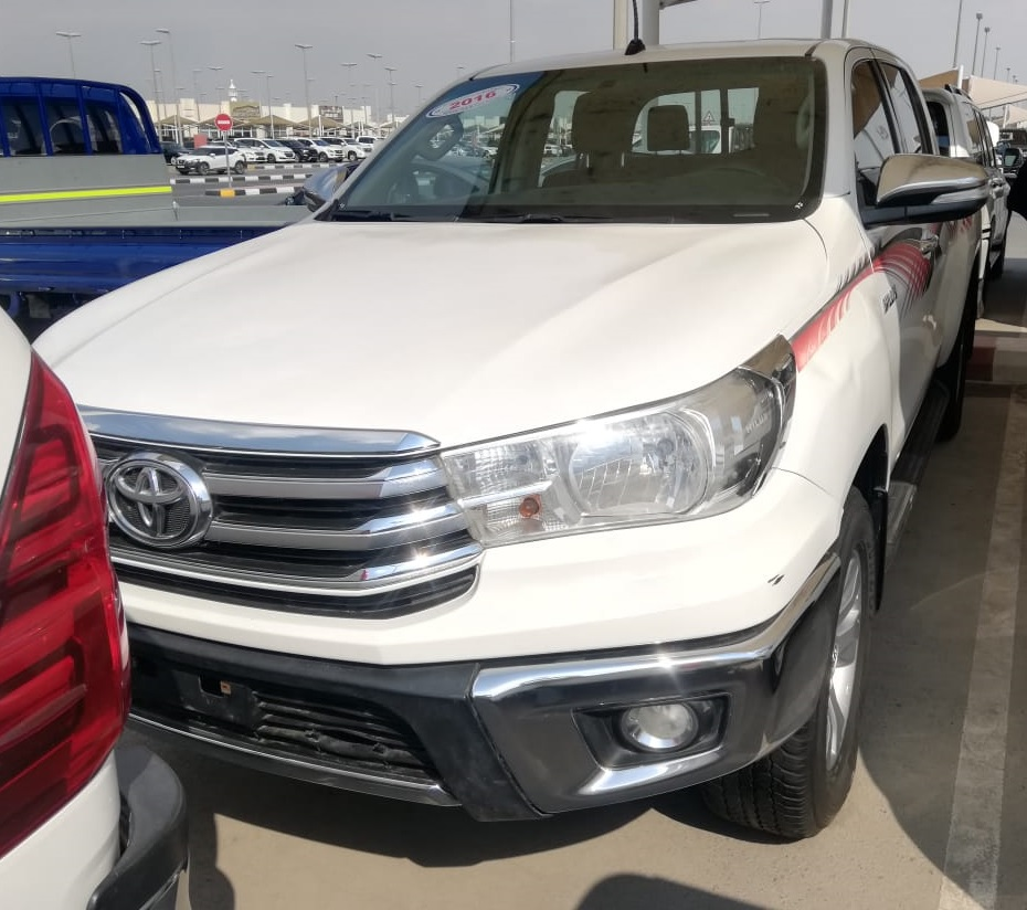 1868 - TOYOTA HILUX PICK 2.7 MT WHITE UP