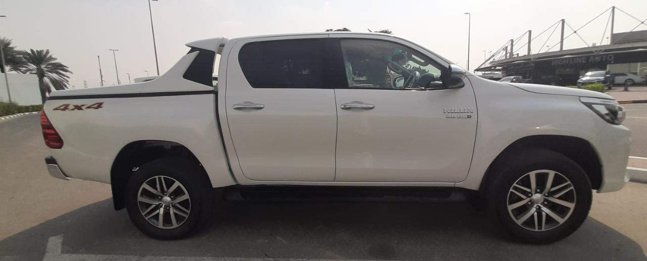 2783 - TOYOTA HILUX PICK UP 2.8 MT  WHITE