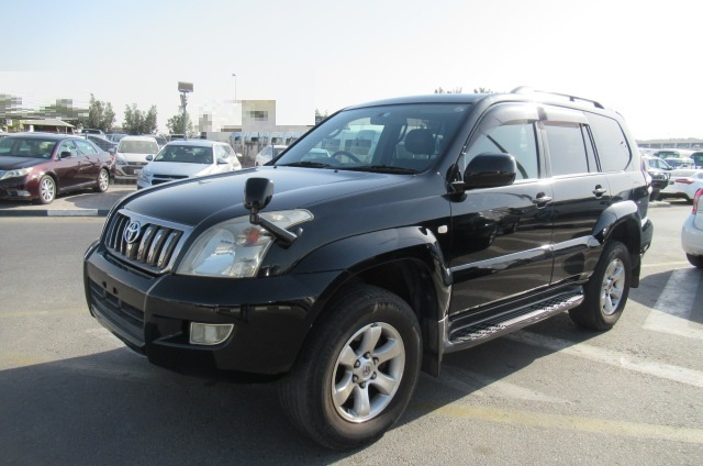 6144-TOYOTA LAND CRUISER PRADO JEEP 2.7 AT BLACK